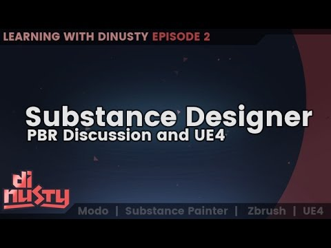 Substance Designer and PBR Discussions [EP2]
