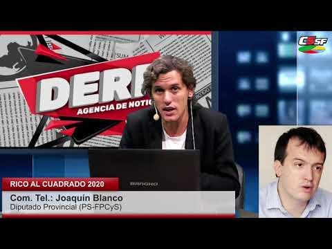 Blanco: Nos piden endeudarnos por 39 mil millones de pesos