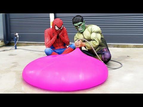 Spider Man Hulk