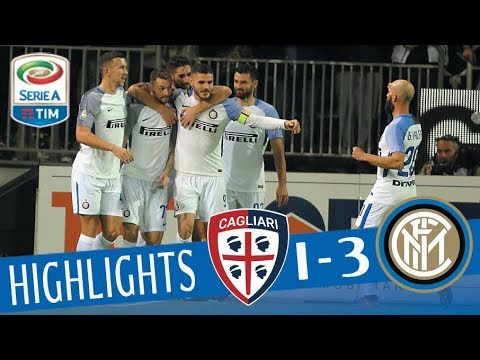 Cagliari - Inter 1-3 - Highlights - Giornata 14 - Serie A TIM 2017/18