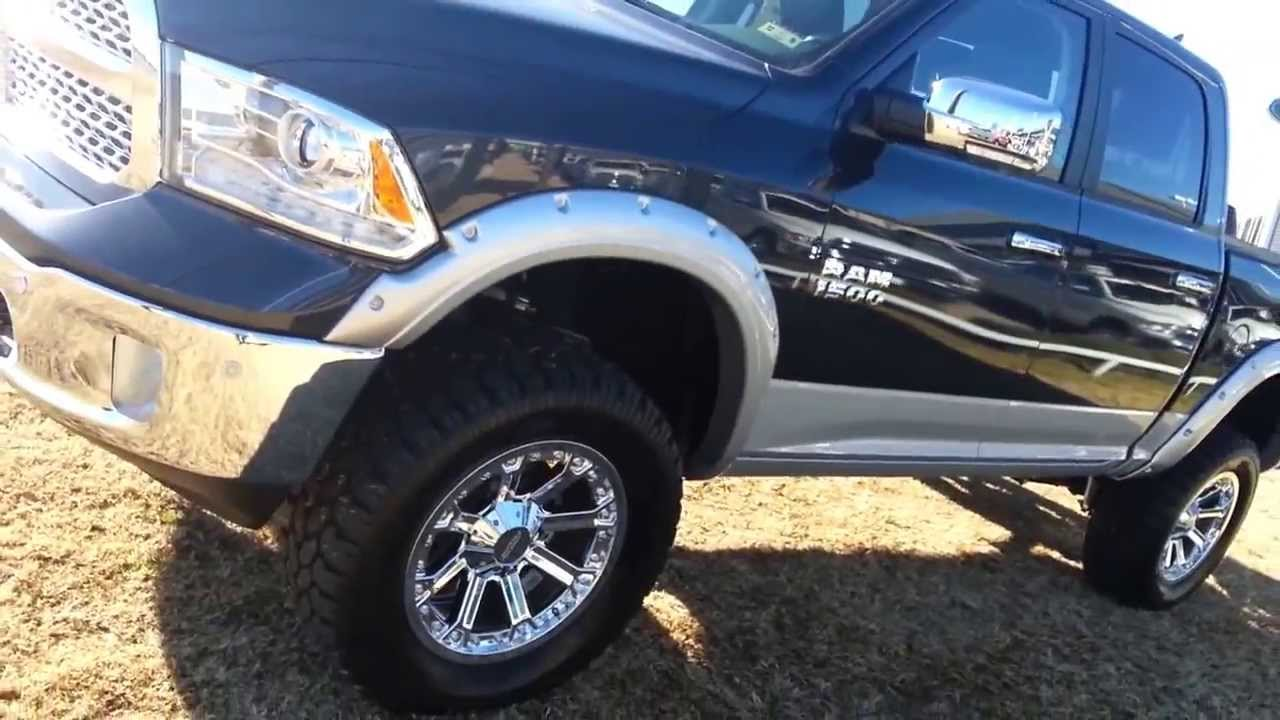 Dodge 5 7 Hemi >> Mud Ready Tricked Out - Lifted 2014 Ram 4x4 1500 Crew Cab ...