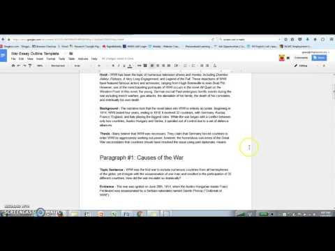 Видео World war one essay conclusion