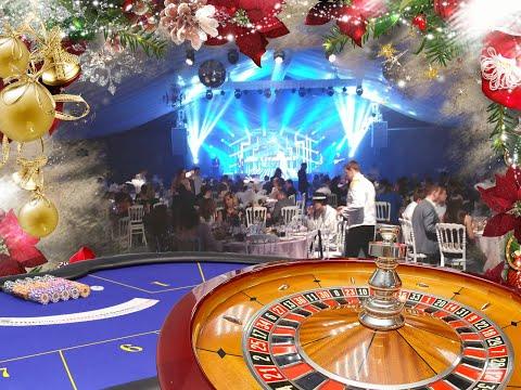 Новогодний корпоратив с выездным казино