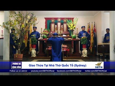 PHÓNG SỰ CỘNG ĐỒNG: Đón Giao Thừa tại nhà thờ Quốc Tổ ở New South Wales, Úc Châu