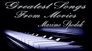 TOP 10 ROMANTIC PIANO LOVE SONGS FROM MOVIES, INSTRUMENTAL, BACKGROUND MUSIC