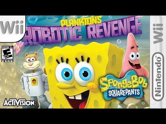 Longplay Of Spongebob Squarepants Plankton S Robotic Revenge Youtube