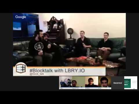 #Blocktalk - Content distribution with LBRY.io