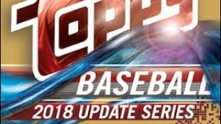 10/27/18 - eBay - 9 PM CDT - 2018 Topps Update Baseball Jumbo 1/2 Case Break #1