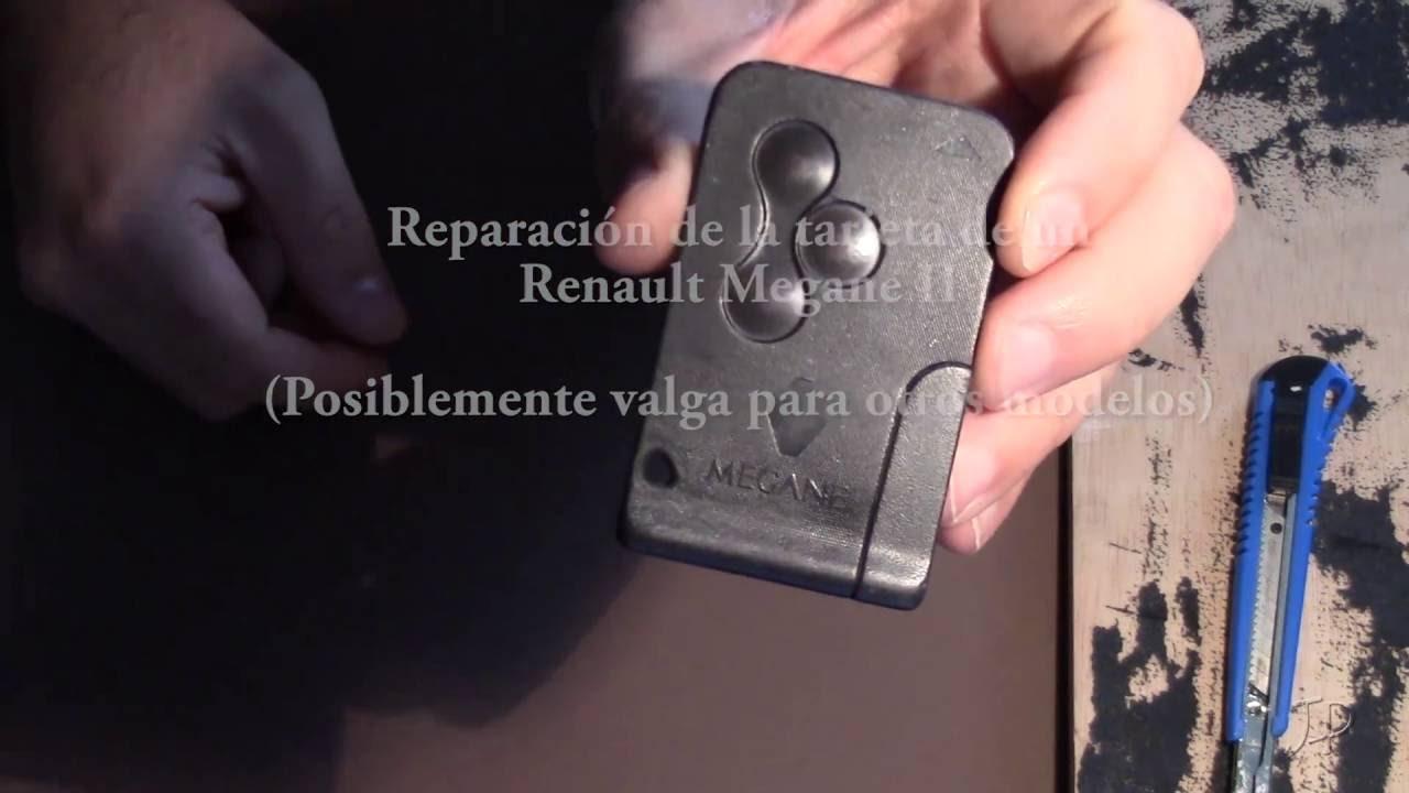 Reparar Tarjeta De Renault Que No Arranca Muy Fácil Y