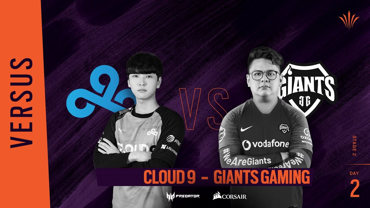 Cloud9 vs Giants Gaming // Rainbow Six APAC North Division 2020 - Stage 2 - Playday #2