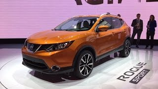 2017 Nissan Rogue Sport – Redline: First Look – 2017 NAIAS