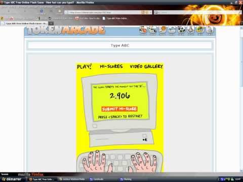 2.688 on Typing ABC Free Flash Online Game