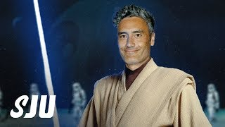 Taika Waititi Talking w/ Disney About Doing a Star Wars! | SJU