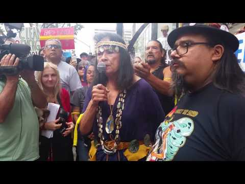NO DAPL gathering in LA, 16 - X (Global Voices for Justice)