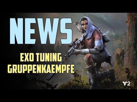Destiny 2 News : Exo Balance & Gruppenkämpfe | Alle Infos Deutsch HD