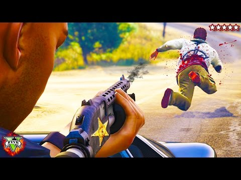 LSPD Special Response - Officer Pain Patrolling The Streets (GTA 5 mods)