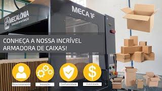Armadora de Caixas MECA 1F (Fita Adesiva)