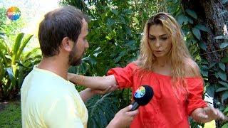 Leyla Bilginel röportaj esnasında fenalaştı!