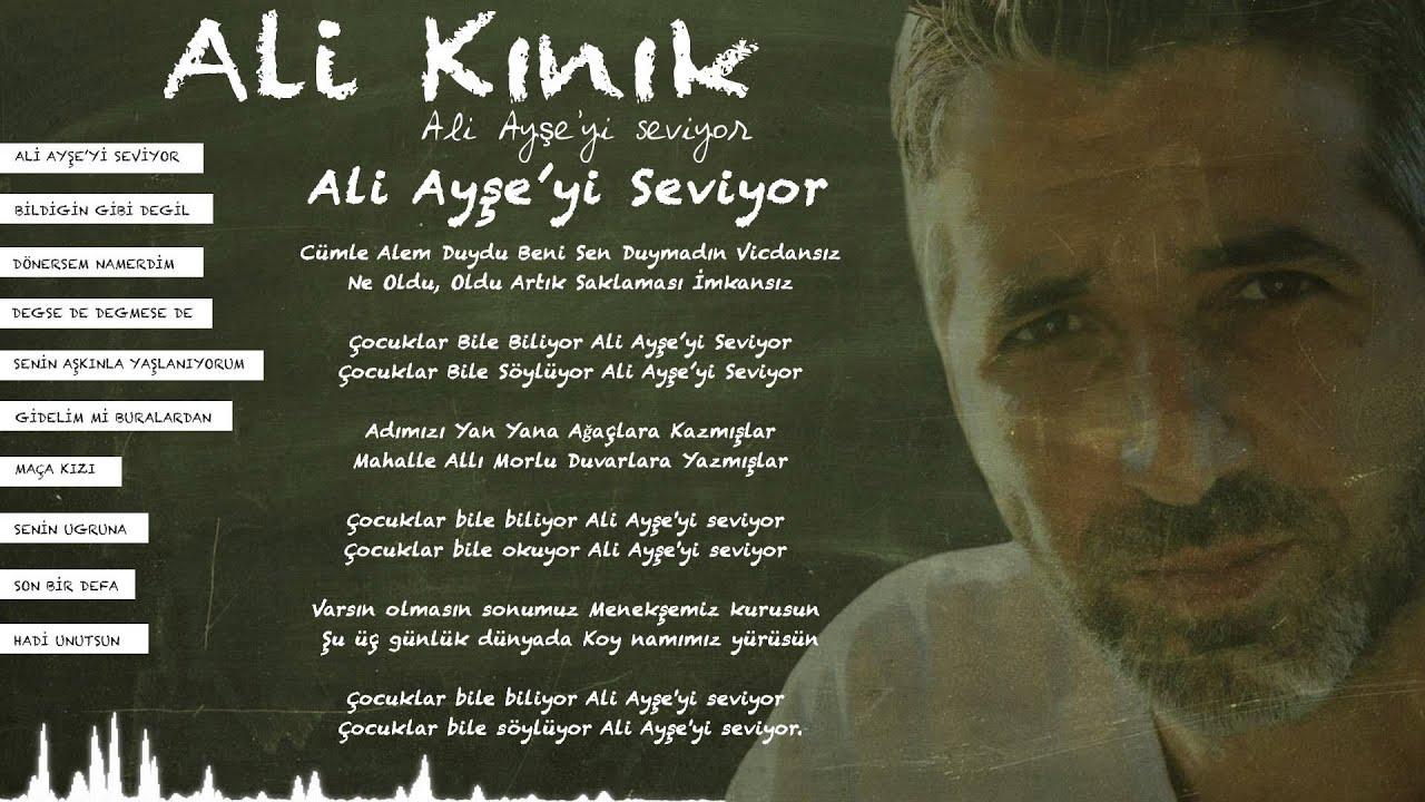 Ali Kınık - Ali Ayşe'yi Seviyor (Official Lyric Video)