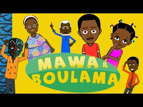 Mawa et Boulama Trailer Cartoon Africaine