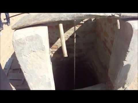 Thar Desert, 400 feet deep water well.