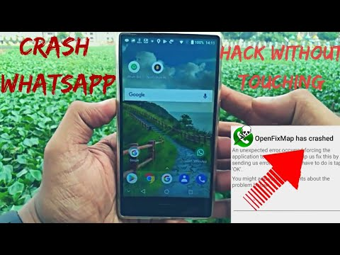 HOW TO CRASH OR HANG ANYONE'S WHATSAPP WITH 1 SPECIAL MSG [ IN HINDI NO  ROOT ]