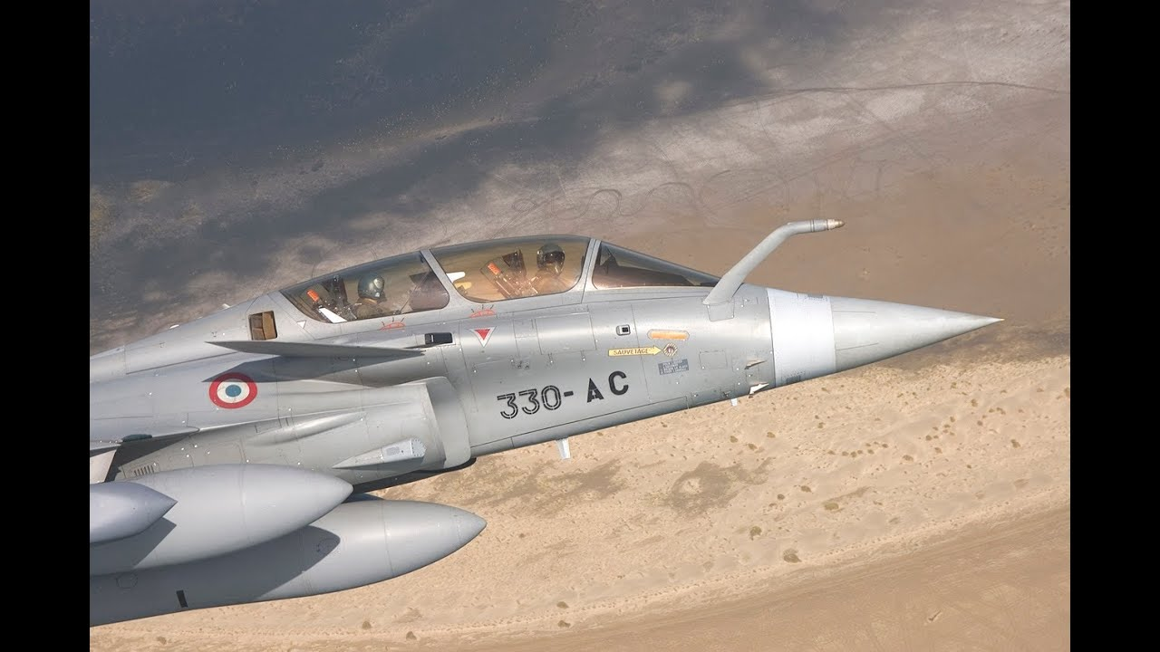 BFM Rafale vs F-22 Raptor (ATLC 2009)