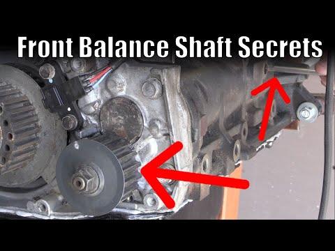 EVO 8 Balance Shaft - How To Set Your Front Balance Shaft