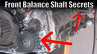 EVO 8 balance shaft - How to set your front balance shaft