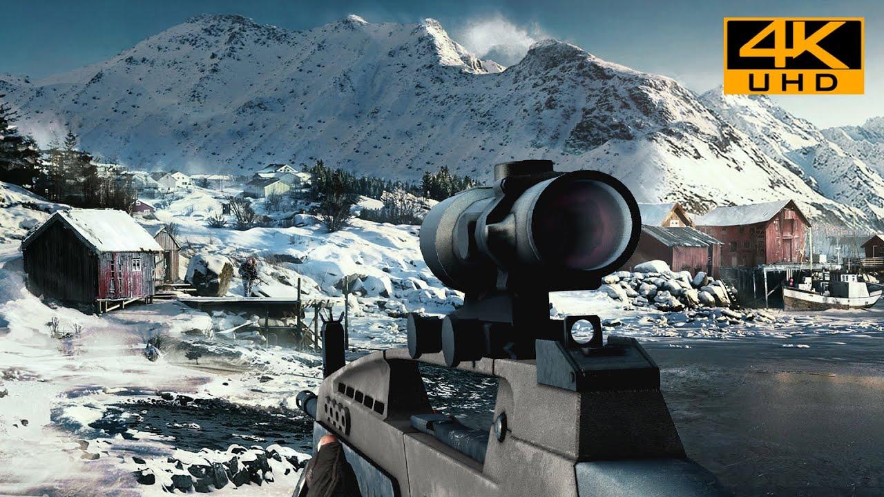 Operation Aurora   Realistic Immersive Gameplay [4K UHD 60FPS] Battlefield