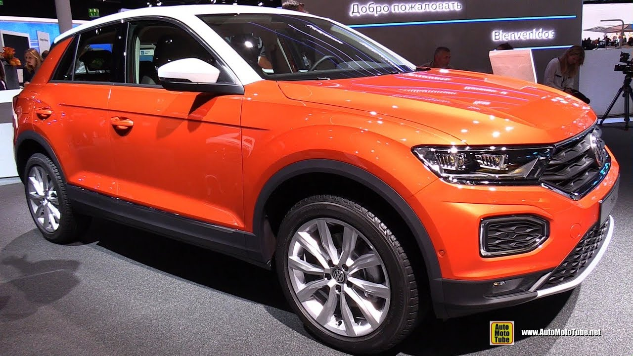 2018 volkswagen t roc style exterior and interior. Black Bedroom Furniture Sets. Home Design Ideas