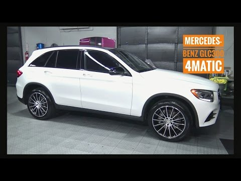 2016 / 2017  Mercedes Benz GLC 300 SUV Review AMG Luxury Wheels Interior / Exterior Full Tutorial
