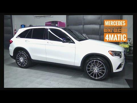 2016 / 2017  Mercedes Benz GLC 300 SUV Review AMG Luxury Wheels Interior / Exterior Full Tutorial