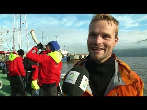 Polar Row I, Norwegian National Television,  TV2 news