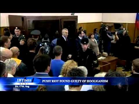 Pussy Riot found guilty of hooliganism