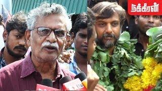 Emotional Speech | Thirumurugan Gandhi's father SA Gandhi | Goondas Act effect in Tamil Nadu