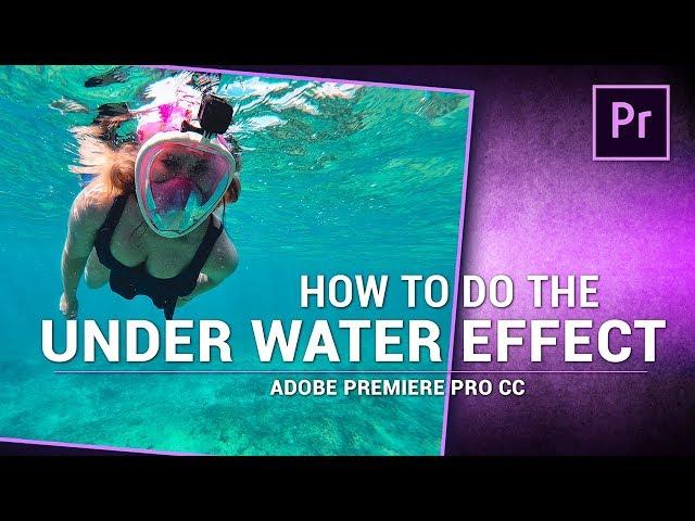 Adobe Premiere Pro / UNDER WATER Audio Muffle EFFECT!