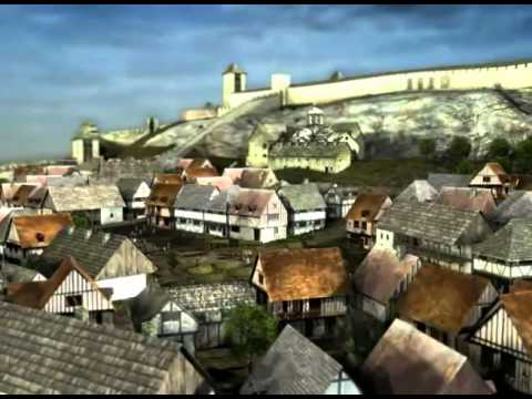 Srednjevekovni Beograd - 3D animacija