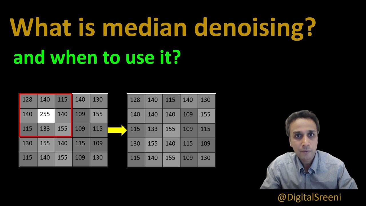 What is Median Denoising Filter?