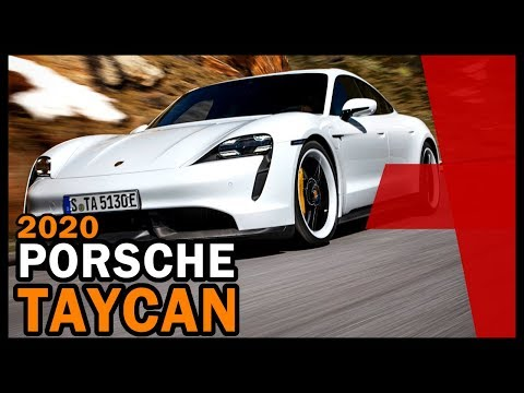 Porsche Taycan Introduced in 2019-Electric Porsche Coming in 2020