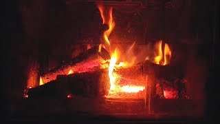 1 HOUR of Relaxing Fireplace Sounds - Burning Fireplace & Crackling Fire Sounds (NO MUSIC)