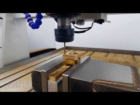 Best Small CNC Router 2.2kW CNC 6040 For Milling Brass from ChinaCNCzone