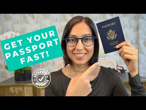 Applying For A US Passport For The First Time 2020 (Get It FAST!)