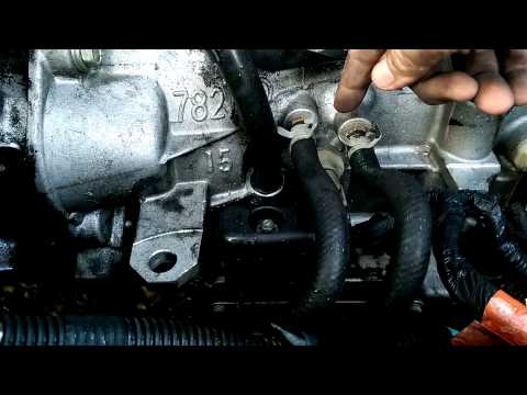 2004 Dodge Neon shift solenoid pack removal - YouTube