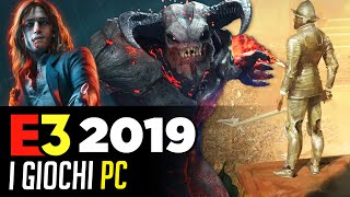 PC all'E3 2019: rumor, giochi e previsioni