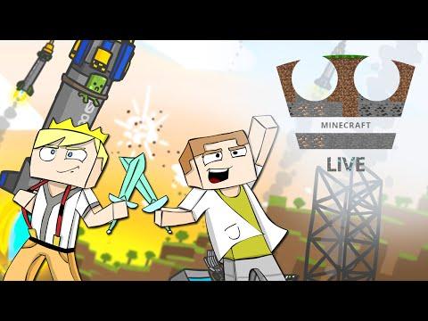 Jirka a GEJMR Hrají - Minecraft Tekkit [SPECIÁL] (live)