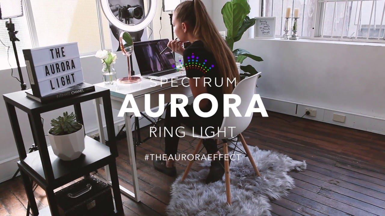 The Spectrum Aurora Ring Light Vloggers Amp Youtubers