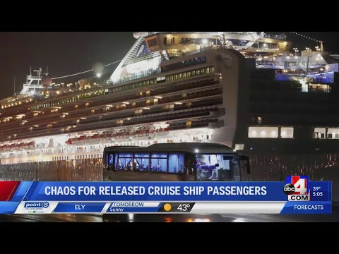Utah evacuees from Diamond Princess cruise ship express frustration about potential spread of infect