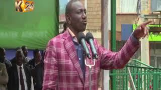 Naibu wa rais,William Ruto azuru Baringo na kukemea viongozi wachochezi