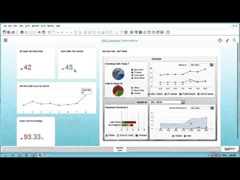 SAP Business One Service Module Demonstration